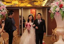 Wedding of Teddy and Margareta by Angke Restaurant & Ballroom Jakarta