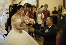 Wedding day of Herdy dan Natalyna by Angke Restaurant & Ballroom Jakarta