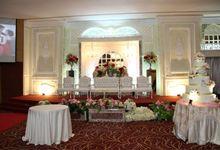 Weddding day of Christian & Silvia at Angke Restaurant Kelapa Gading by Angke Restaurant & Ballroom Jakarta