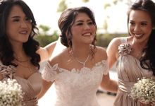 International Wedding Of Ines & Ben by  Menara Mandiri by IKK Wedding (ex. Plaza Bapindo)