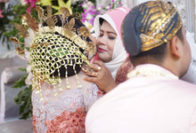 Traditional Wedding of Yusuf & Wulan by Cambium