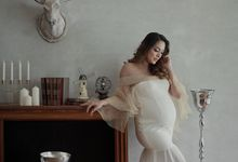 dr Reisa Maternity Photoshoot by LOTA by Laurencia Lolita