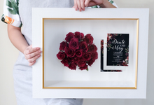 Dante&May Wedding Preserved Red Roses by Camila V Flower Preservation Studio