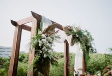 The Wedding of Gevia & Habib di Seribu Rasa Summarecon Bekasi by Decor Everywhere