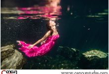 Underwater Cenote by Cancun Studios Photography