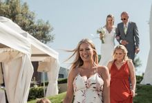 Chic beach wedding by Avaton Luxury Hotel & Villas- Relais & Chateaux