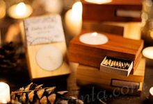 CANDLE WITH MATCH by rasacinta