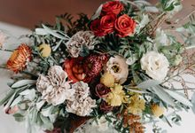 Bridal Bouquets by The Bloomish Eden