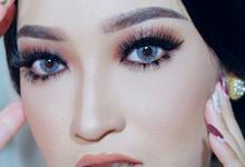 Wedding Makeup Ms. Linda ✨ by Cantika Makeup