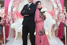 Reception Azan & Shafinaz by CNP Production