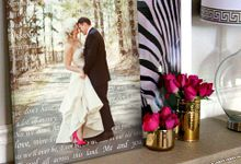 Wedding Photo First Dance Canvas Wedding Vow Art Gift for Husband by Geezees Custom Canvas