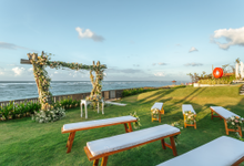 Roosterfish Beach Garden Wedding by Renaissance Bali Uluwatu Resort & Spa