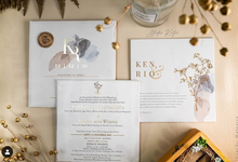 Dusty Ivory - Ken and Rio Intimate Wedding by Studio Kata