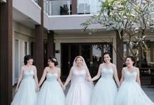 Amelia's wedding by Caramells