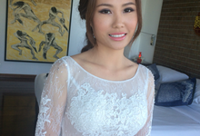 Beautiful in natural make up by Carmelia & Team Make Up Artist