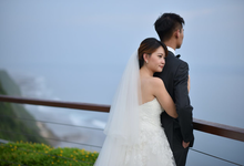 Romantic Wedding at the cliff by Carmelia & Team Make Up Artist