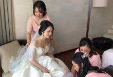 Korean Style Bridal Make Up by Carmelia & Team Make Up Artist