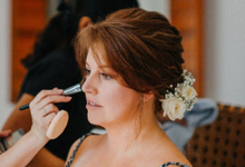 Natural Bridal Make Up for wedding at the beach by Carmelia & Team Make Up Artist
