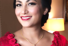 Beautiful Bride from Nepal by Carmelia & Team Make Up Artist