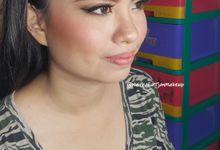Party Makeup - Ms.Samantha by Nathalia Tjan Makeup