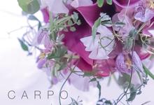 """Christian Dior"" Bouquet ideas  by CARPO FLEURISTE by Kumiko Ishii"