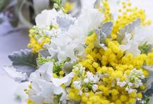 """CELINE"" Bouquet Ideas  by CARPO FLEURISTE by Kumiko Ishii"
