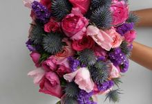 Cascade Bouquet Collection by Il Fiore