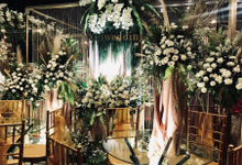 Akuwedding Booth @165 wedding exhibition by Cassia Decoration
