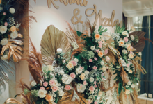 The Engagement of Nezela & Raviali by Cassia Decoration