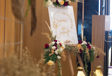 The Wedding of Suci & Luthfi by Cassia Decoration
