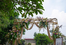 The Wedding of Prilly & Harald by Cassia Decoration