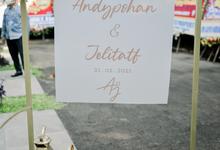 The Wedding of AndyPohan & Jelita by Cassia Decoration