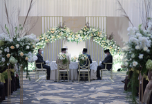 The Wedding of Annisa & Herdit by Cassia Decoration