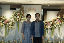 The Engagement of Laras & Nico by Cassia Decoration