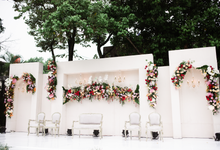 The Wedding of Lisa & Ghuzan by Cassia Decoration