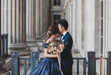 An Elegant Pre-wedding by Knotties Frame