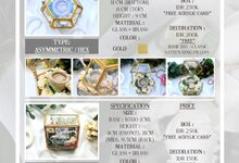 Pricelist Full by Ivory Gift - Wedding Ring Box, Souvenir, Invitation