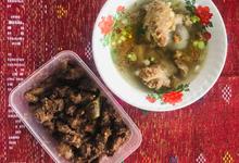 Menu prasmanan by Catering Tapian