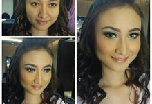wedding makeup and bridemaids by Novena Febriani MUA