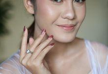 Romantic bride by Nikki Liem MUA