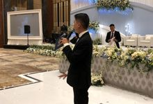 Entertainment jazz  MC Wedding Swissotel PIK - Double V Entertainment by Anthony Stevven