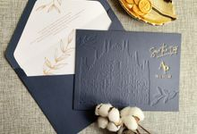 Midnight Castle by Trouvaille Invitation
