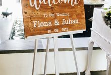 Wedding Styling at Fiona & Julian by baliVIP Wedding
