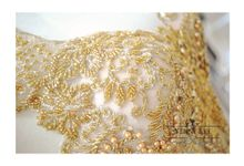 Gold - Champagne Couture Evening Gown by Yenny Lee Bridal Couture