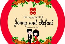 Engagement JONNY ❤ STEFANI by Prince Organizer