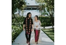 The Wedding of Mita & Tommy by Peony and Brides Invitation