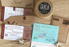 Touch of rustic by Gracia The Invitation