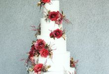 The Wedding of Kevin & Ellen by KAIA Cakes & Co.