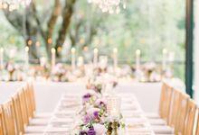 Colors in the Air - Wedding theme decoration by Tirtha Bridal by Tirtha Bridal