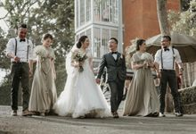 The Wedding of Chandra & Melisa by PlanMyDay Wedding Organizer